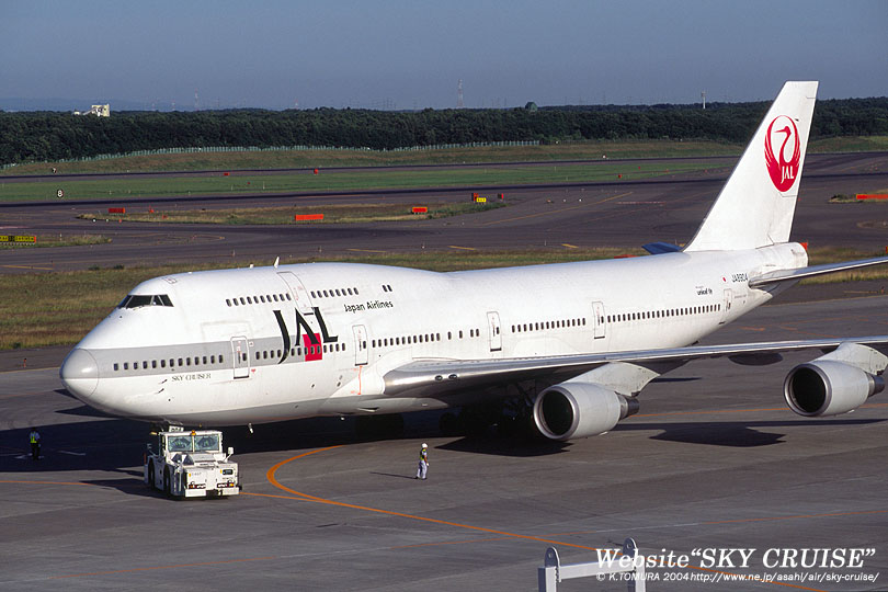 Japan Airlines Boeing747 446d